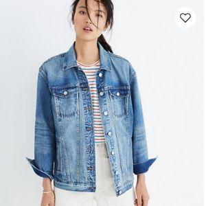 Madewell Oversized Jean Jacket Size S